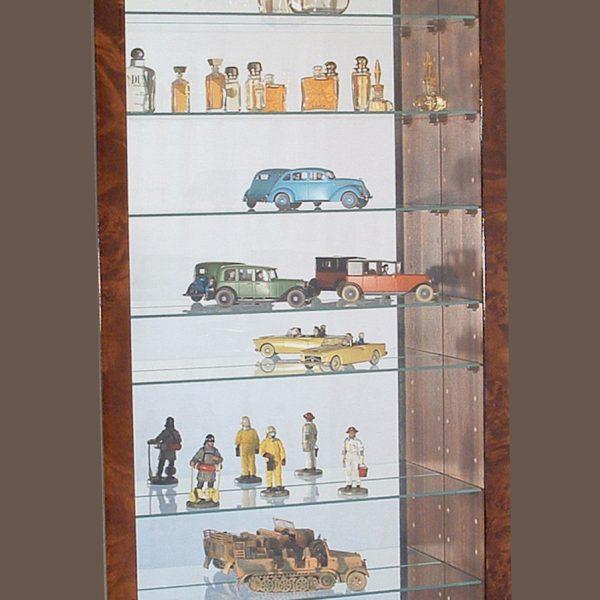 vitrine figurine, vitrine pour miniature de parfum